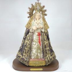Nuestra señora de la esperanza - Figura pintada a Mano - 28 cm