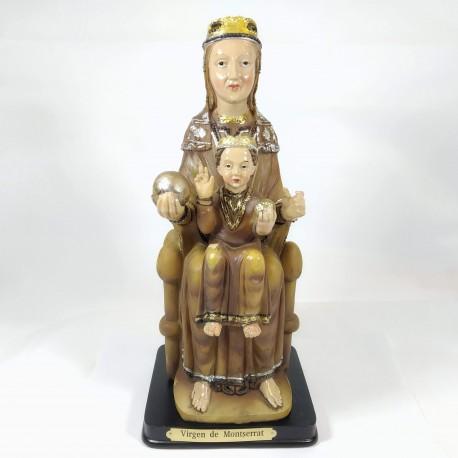 Virgen de la Montserrat - Figura pintada a Mano - 25 cm