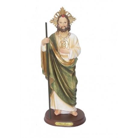 San Judas - Figura pintada a Mano - 32cm