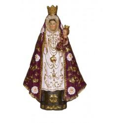 Estatua / Escultura / Figura de la Virgen de la Fuensanta - Figura pintada a Mano - 13 cm