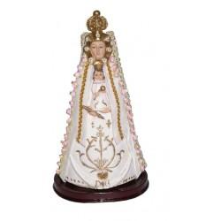 Virgen del Rocio - Figura pintada a Mano - 18 cm