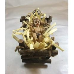 NIÑO JESÚS EN CUNA O PESEBRE
