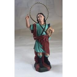 San Pancracio - Figura pintada a Mano - 18 cm