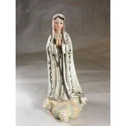 Virgen de Fatima - Figura pintada a Mano - 17 cm