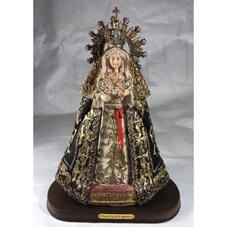 Nuestra señora de la esperanza - Figura pintada a Mano - 30 cm