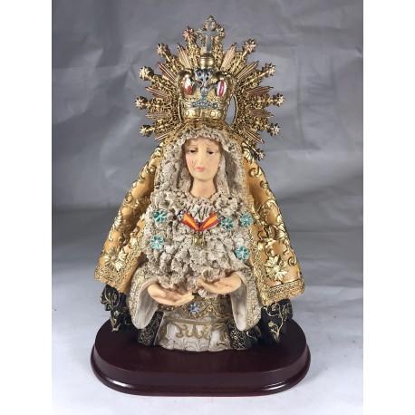 Nuestra señora de la esperanza - Figura pintada a Mano - 25 cm