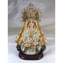 Nuestra señora de la esperanza - Figura pintada a Mano - 17 cm