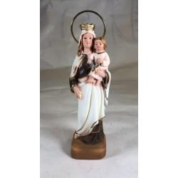 Nuestra Señora del Carmen - Figura pintada a Mano - 18 cm