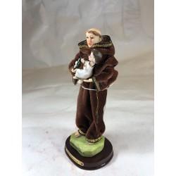 San Antonio - Figura pintada a Mano - 15 cm