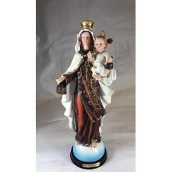 Nuestra Señora del Carmen - Figura pintada a Mano - 31 cm