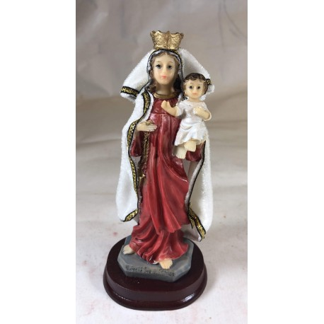 Nuestra Señora del Carmen - Figura pintada a Mano - 20 cm