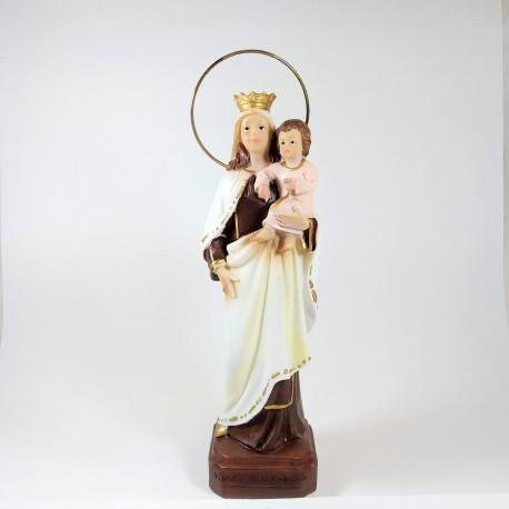 Nuestra Señora del Carmen - Figura pintada a Mano - 30 cm