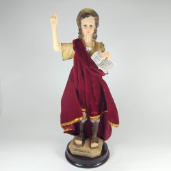 San Pancracio - Figura pintada a Mano - 28 cm