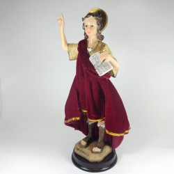 San Pancracio - Figura pintada a Mano - 15 cm