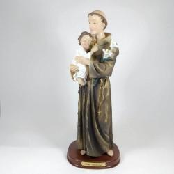 San Antonio - Figura pintada a Mano - 30 cm