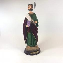San Judas - Figura pintada a Mano - 27cm