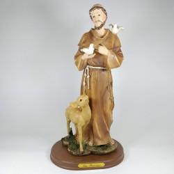 San Francisco - Figura pintada a Mano - 30 cm