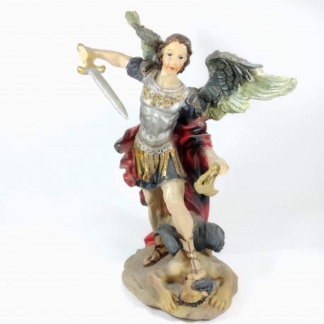 San Miguel - Figura pintada a Mano - 28cm