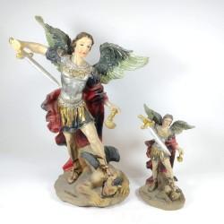 San Miguel - Figura pintada a Mano - 11cm