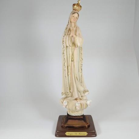 Virgen de Fatima - Figura pintada a Mano - 32 cm