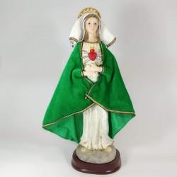 Virgen de los Dolores - Figura pintada a mano - 30cm