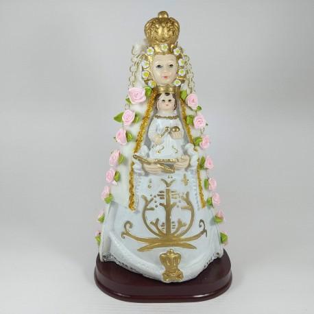 Virgen del Rocio - Figura pintada a Mano - 29 cm