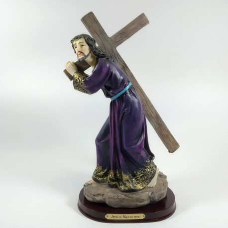 Jesús Nazareno - Figura pintada a Mano - 26 cm