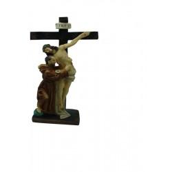 San Francisco - Figura pintada a Mano - 31 cm