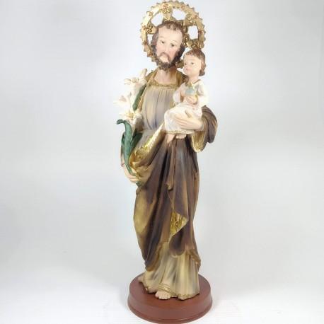 San Jose - Figura pintada a Mano - 30 cm