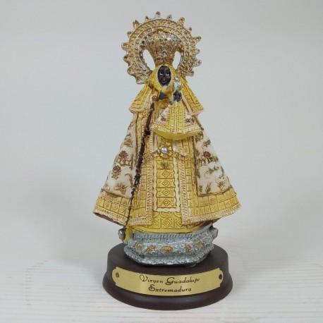 Virgen de Guadalupe - Figura pintada a Mano - 12 cm