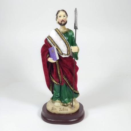 San Judas - Figura pintada a Mano - 18cm