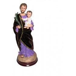 San Jose - Figura pintada a Mano - 28 cm